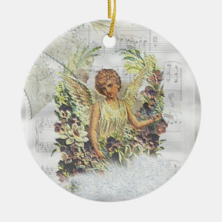Vintage Angels Ornament