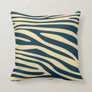 Vintage Animal print skin of Zebra Throw Cushion