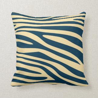 Vintage Animal print skin of Zebra Throw Pillow