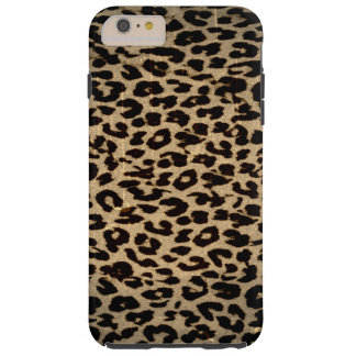 Vintage animal texture of leopard tough iPhone 6 plus case