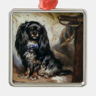 Vintage Animals Black Toy Spaniel Pet Dog Ornament