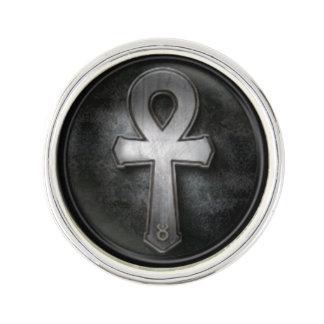 Vintage Ankh Symbol Key of Life Design Lapel Pin