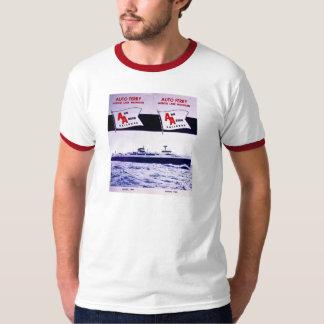 Vintage Ann Arbor Railroad Car Ferry Lake Michigan T-Shirt