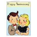 Vintage Anniversary Couple