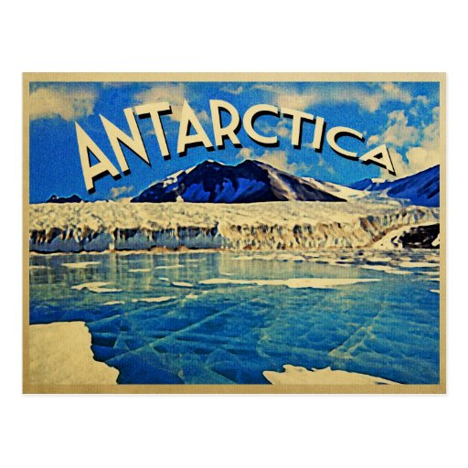 Vintage Antarctica South Pole Postcards
