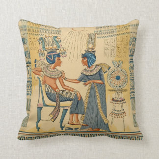 Vintage Antique Ancient Egyptian Royalty Cushion