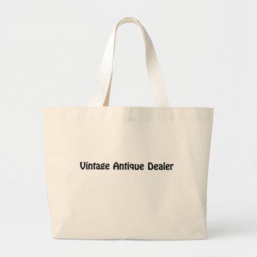 Vintage Antique Dealer Bag