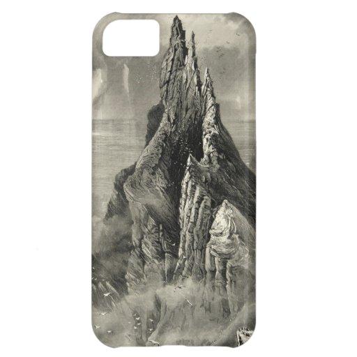 Vintage Antique Ireland Bent Cliff Coast iPhone 5C Case