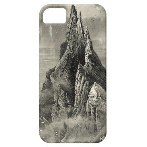 Vintage Antique Ireland Bent Cliff Coast iPhone 5 Case