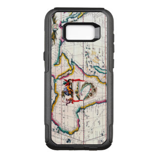 Vintage Antique Map of Africa Circa 1687 OtterBox Commuter Samsung Galaxy S8+ Case