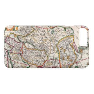 Vintage Antique Map of Asia Circa 1632 iPhone 7 Plus Case