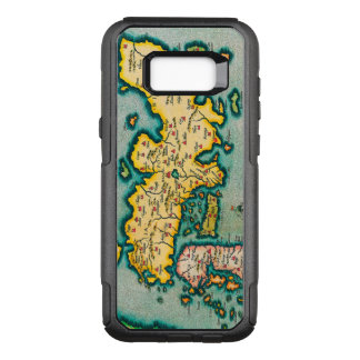 Vintage Antique Map of Japan Circa 1595 OtterBox Commuter Samsung Galaxy S8+ Case