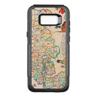 Vintage Antique Map of Japan OtterBox Commuter Samsung Galaxy S8+ Case