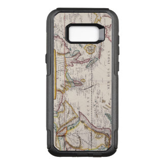 Vintage Antique Map of the West Indies From 1677 OtterBox Commuter Samsung Galaxy S8+ Case