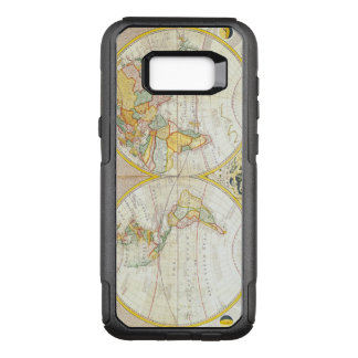 Vintage Antique Map of the World OtterBox Commuter Samsung Galaxy S8+ Case