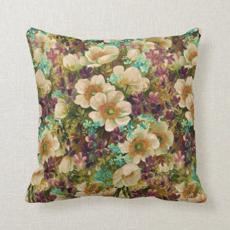 Vintage Antique Mixed Floral Cushions