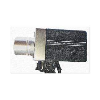 Vintage Antique Nikon Super Film Camera Canvas