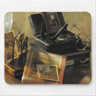 Vintage Antique Nostalgic Items from the past Mouse Pads