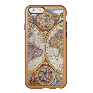 Vintage Antique Old World Map cartography Incipio Feather® Shine iPhone 6 Case