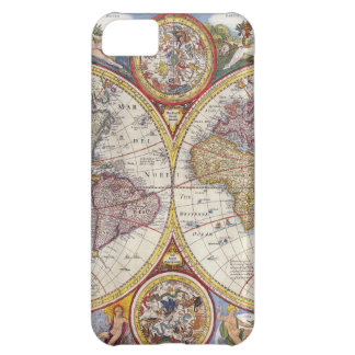 Vintage Antique Old World Map cartography iPhone 5C Case