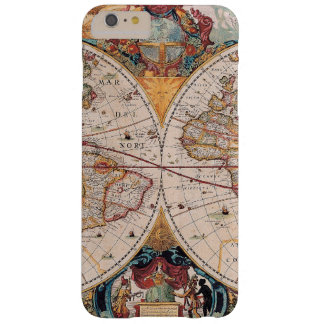 Vintage Antique Old World Map iPhone 6 Plus Case