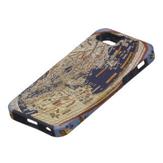 Vintage Antique Ptolemaic World Map, 1482 iPhone 5 Cover