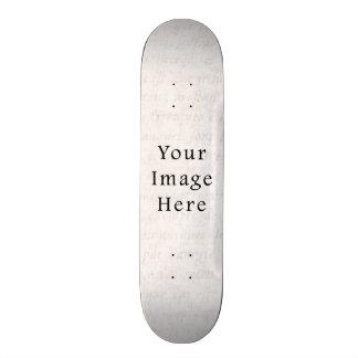 Vintage Antique Script Parchment Paper Background Skateboard Decks