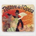 Vintage Antique Theatre Opera Carnaval Mouse Mats