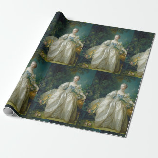 Vintage Antoinette Style Wrapping Paper