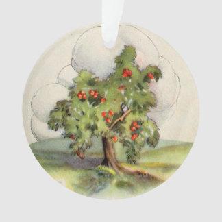 Vintage Apple Tree Ornament
