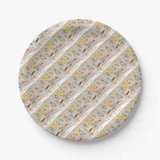 Vintage Aprons Mother & Daughter Party Paper Plate