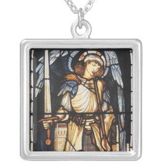 Vintage Archangel Saint Michael by Burne Jones Necklaces