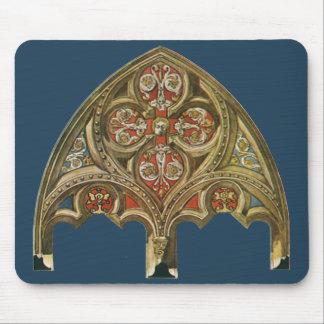 Vintage Architectural Element Decorative Arches Mousepads