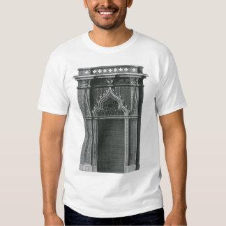 Vintage Architectural Element, Gothic Doorway Tee Shirt