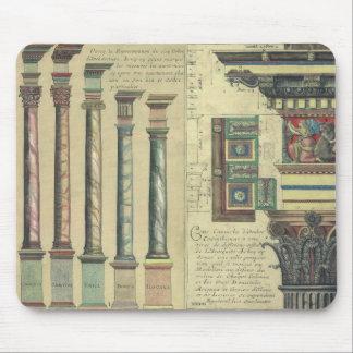 Vintage Architecture by Giacomo Barozzi da Vignola Mouse Pad