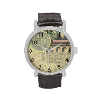 Vintage Architecture; Capital Volute by Vignola Watches