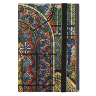 Vintage Architecture, Church Stained Glass Window Cover For iPad Mini