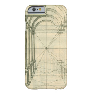 Vintage Architecture, Columns Arches Perspective Barely There iPhone 6 Case