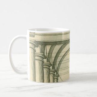 Vintage Architecture, Columns Arches Perspective Mugs