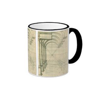 Vintage Architecture, Columns Arches Perspective Mug