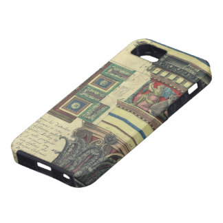 Vintage Architecture, Cornice Moulding and Column iPhone 5 Covers