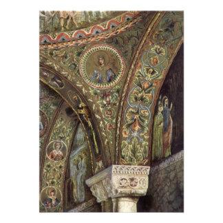 Vintage Architecture Decorative Arch in a Church Custom Invites