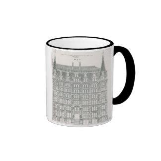 Vintage Architecture, Delaware & Hudson Canal Co. Ringer Mug