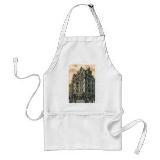 Vintage Architecture Queens Hotel Leicester Square Adult Apron