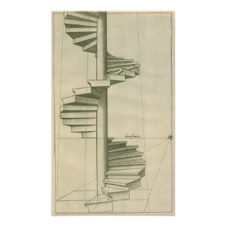 Vintage Architecture Staircase, Stairs, Steps Posters