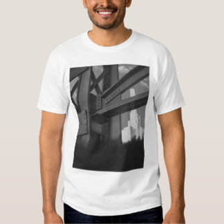 Vintage Architecture Steel Construction Skyscraper T-shirts