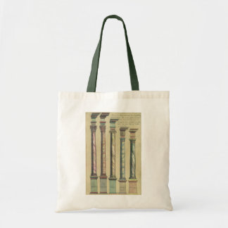 Vintage Architecture, the 5 Architectural Orders Bag