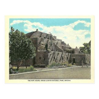 Vintage Arizona Hopi House Postcard