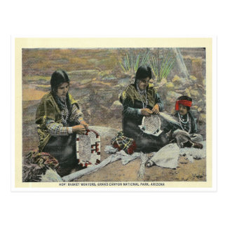 Vintage Arizona Hopi Postcard