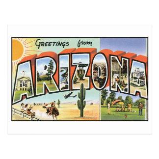 Vintage Arizona Postcard